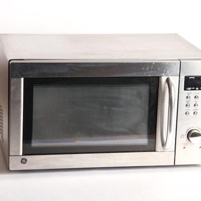 Ge Stainless Steel Countertop Microwave
