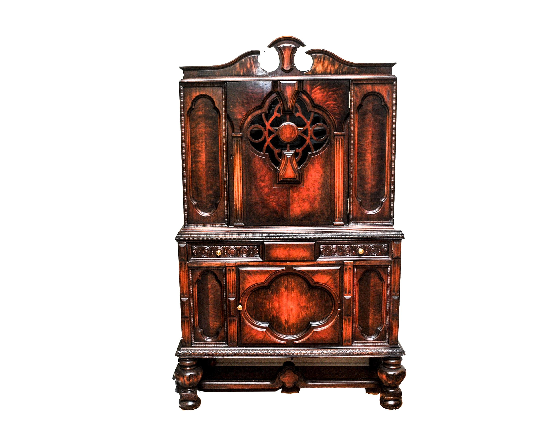 Antique Renaissance Revival Style Hutch
