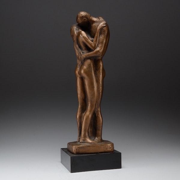 Austin Prod Inc Klein Nude Embrace Sculpture   EBTH
