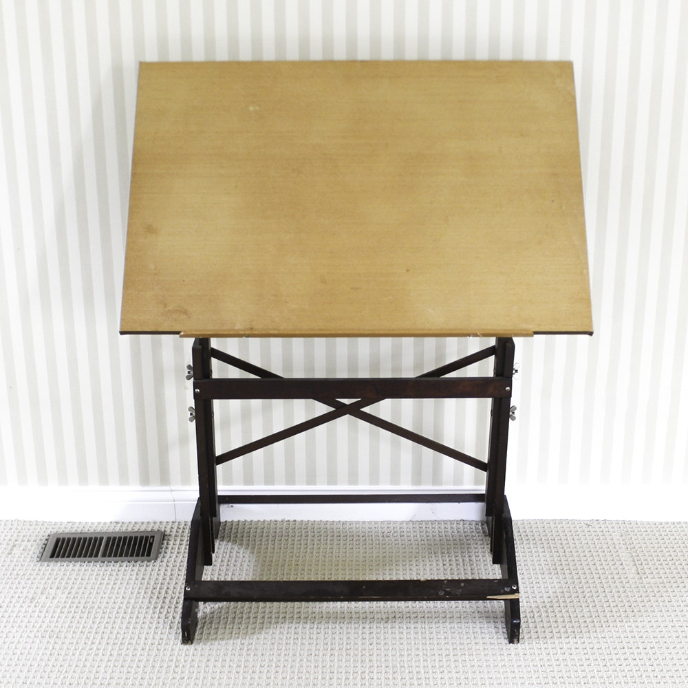 Vintage Drawing Table ...
