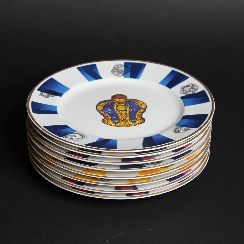 Set of Royal Castle Dessert Plates