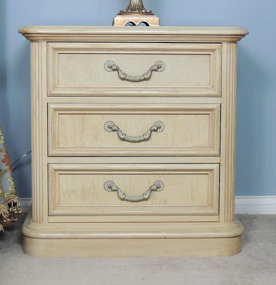 Sophia Blond Nightstand by Stanley Furniture : EBTH