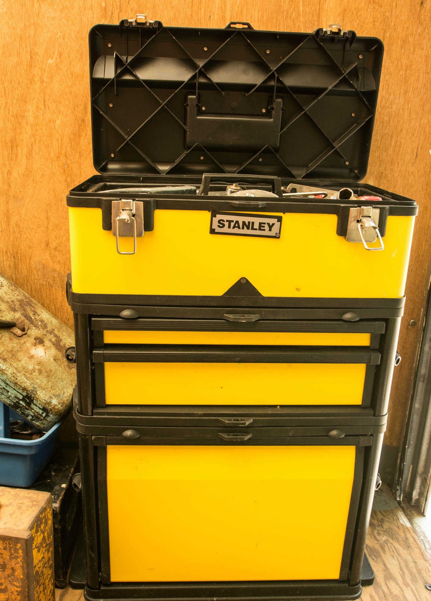 Stanley Rolling Toolbox with Tools