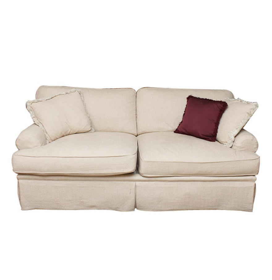 Cream Sofa By Henredon Ebth