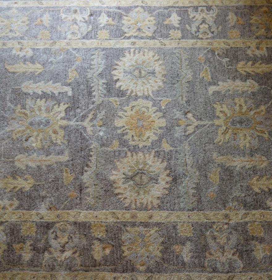 Persian Style Wool Area Rug Ebth: Hastings Persian Style Wool Rug : EBTH