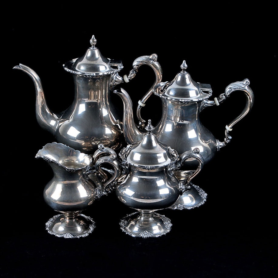 Stieff Sterling Silver Coffee and Tea Set
