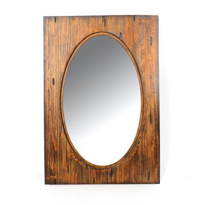 Wooden Accent Mirror