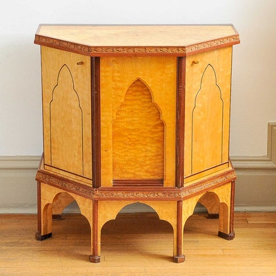 Moroccan Inspired Vanity Table