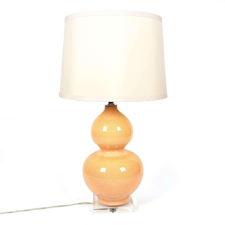 Cream Ceramic Table Lamp by Port 68