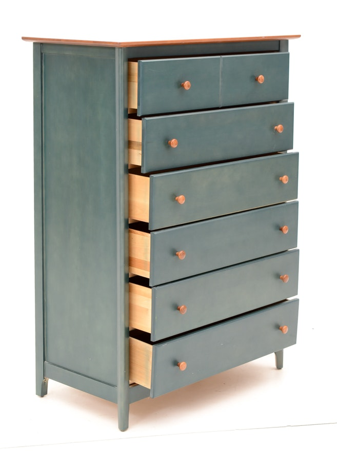 Nadeau Mixed Wood Chest Of Drawers Ebth