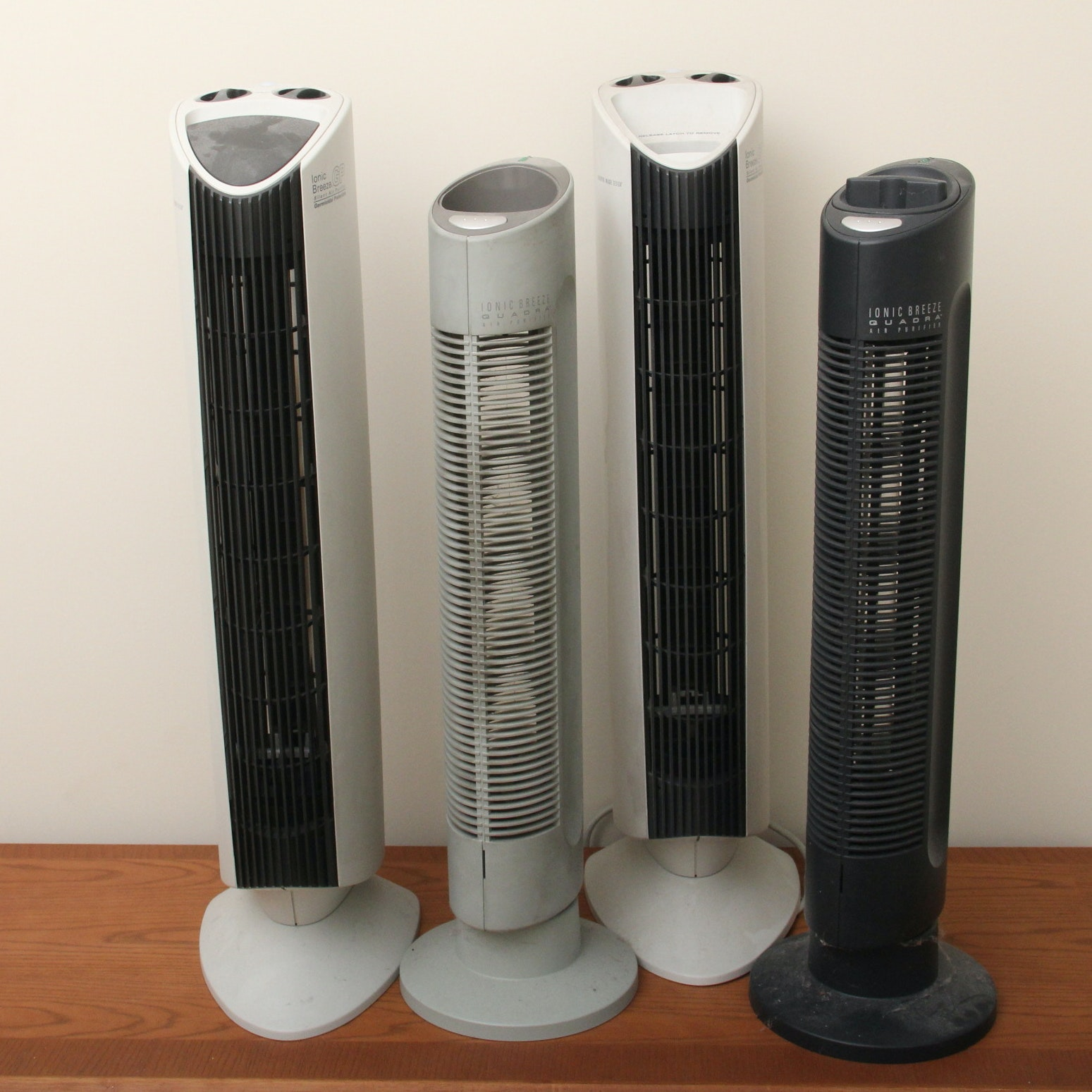 Set of Four Upright Air Cleaners