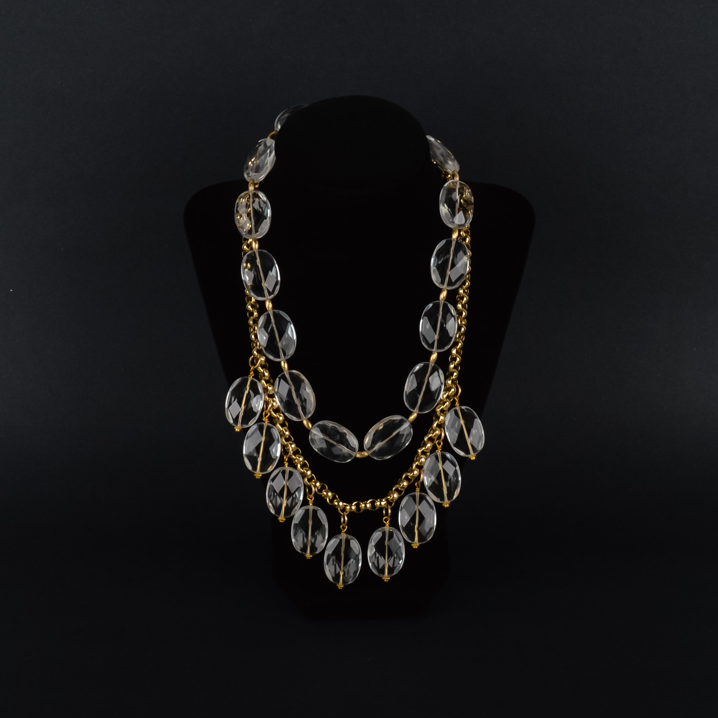Vintage Dual Strand Necklace
