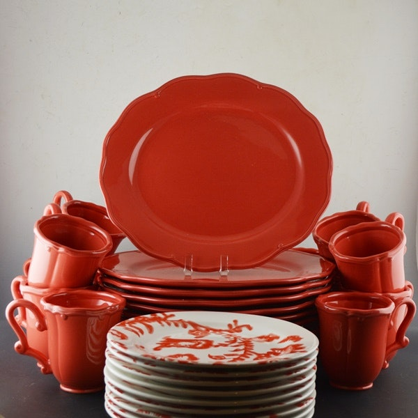 Waterford  Coral Zinger  Dinnerware and Portuguese Plates ... & Waterford