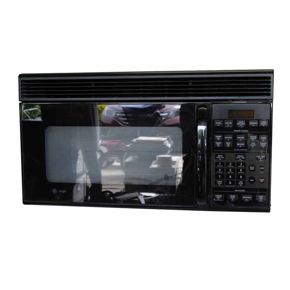 general electric profile spacemaker xl microwave oven