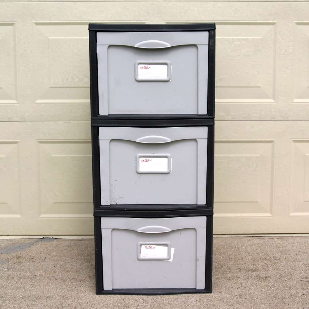 Dr. Byte Stackable File Cabinet : EBTH