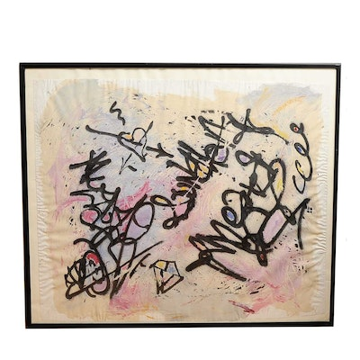 "Original Graffiti Art by ""Fab 5 Freddy"""