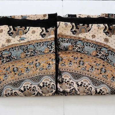 Pair of Indian-Inspired Tapestries
