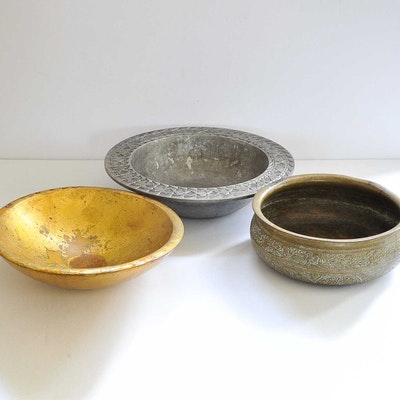 Trio of Decorative Bowls