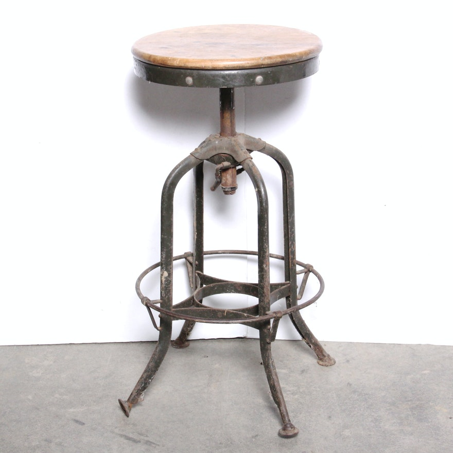 Vintage Toledo Metal Furniture Co