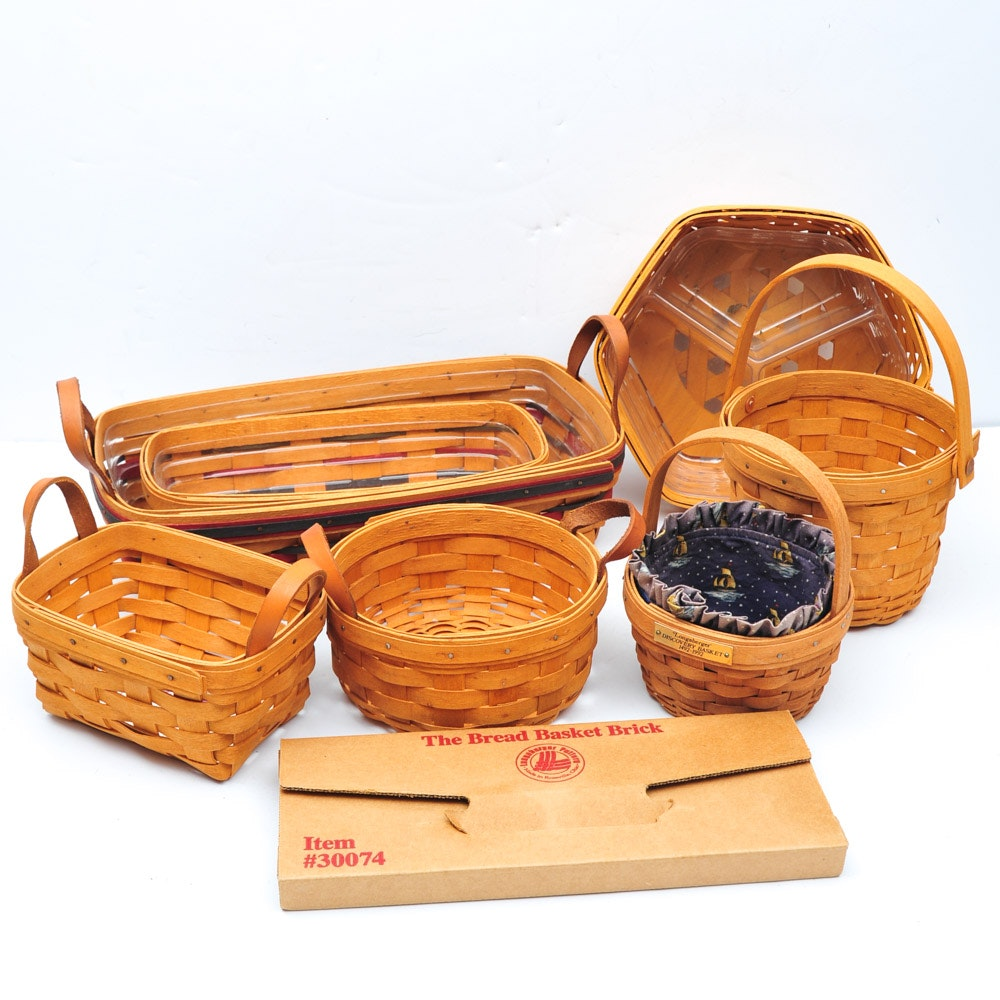 Collection of Longaberger Baskets