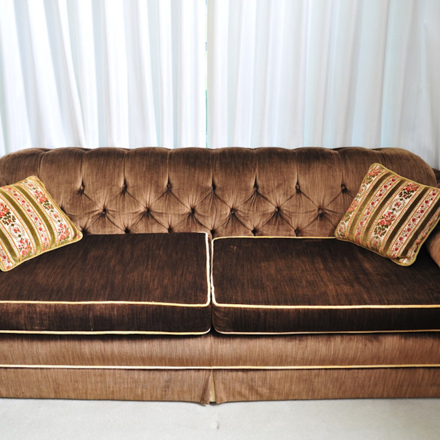 Mid Century Key City Sofa