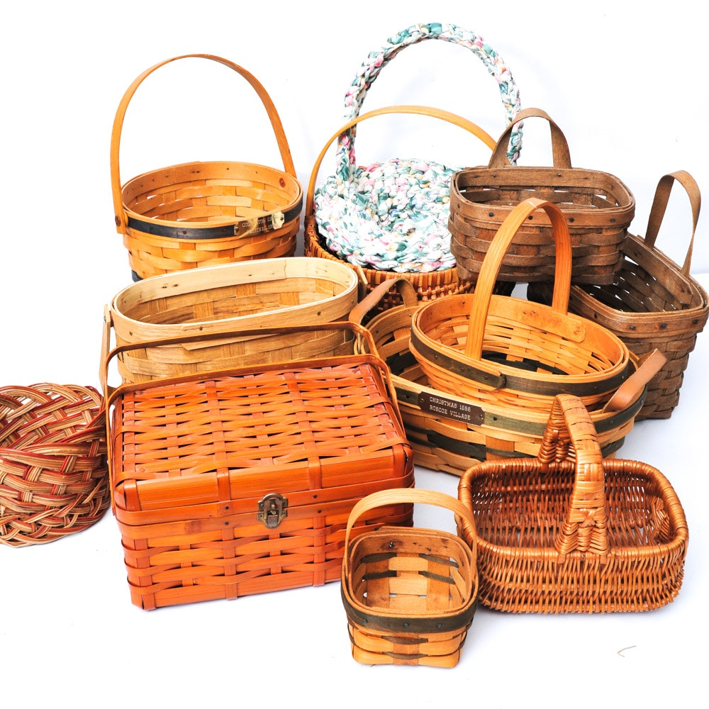 Collection of Decorative Baskets