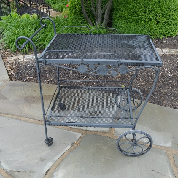 Jenn Air Stainless Steel Sink Cart Ebth