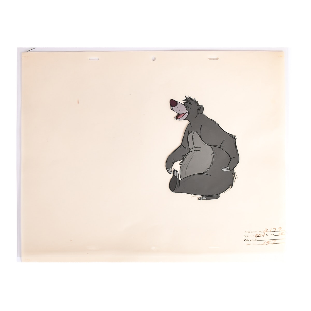 "Disney's Baloo from ""The Jungle Book"" Celluloid"