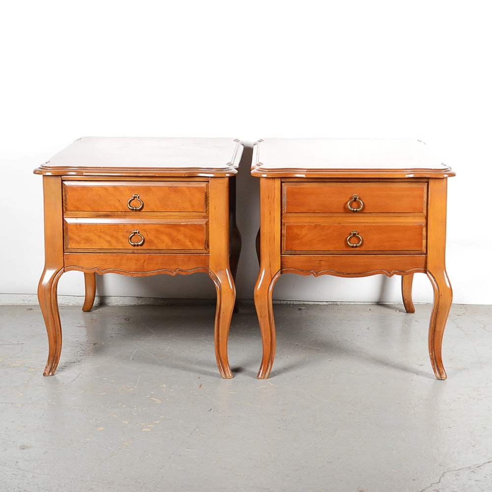 French Provincial End Tables From Bassett Furniture ...