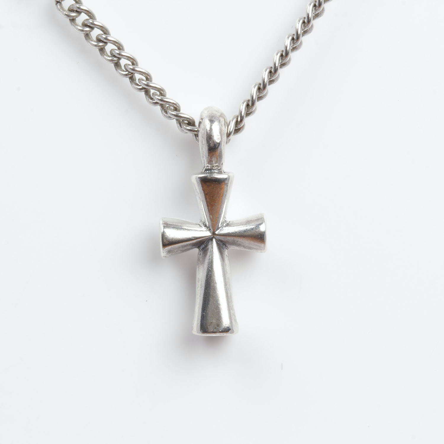 James Avery Sterling Silver Cross Pendant Necklace