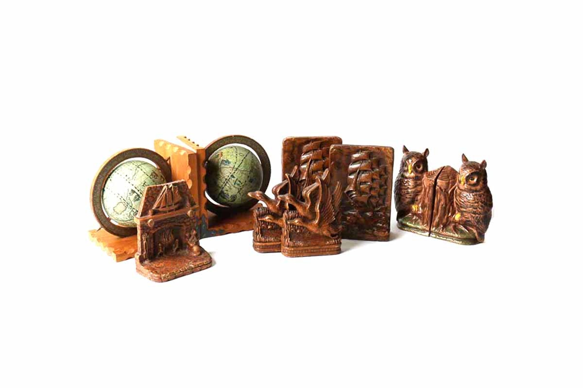 Collection of Vintage Bookends
