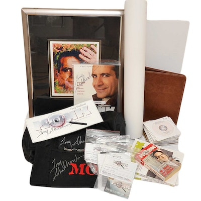 Collection of Signed Memorabilia from Television Series Monk