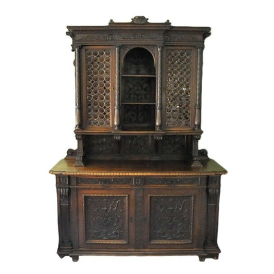 Very Fine Italian Renaissance Revival Antique Sideboard