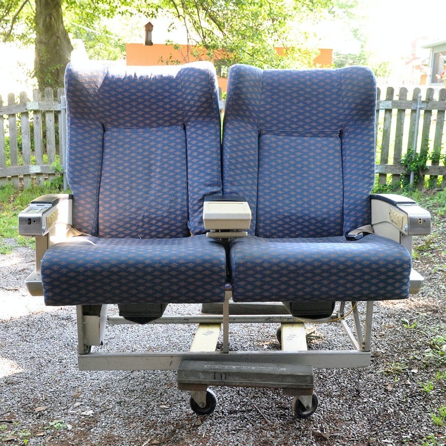 Vintage First Class Airline Seats Ebth