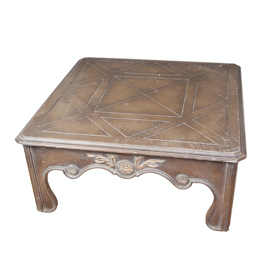 Victorian Coffee Table Furniture: Victorian Style Coffee Table : EBTH