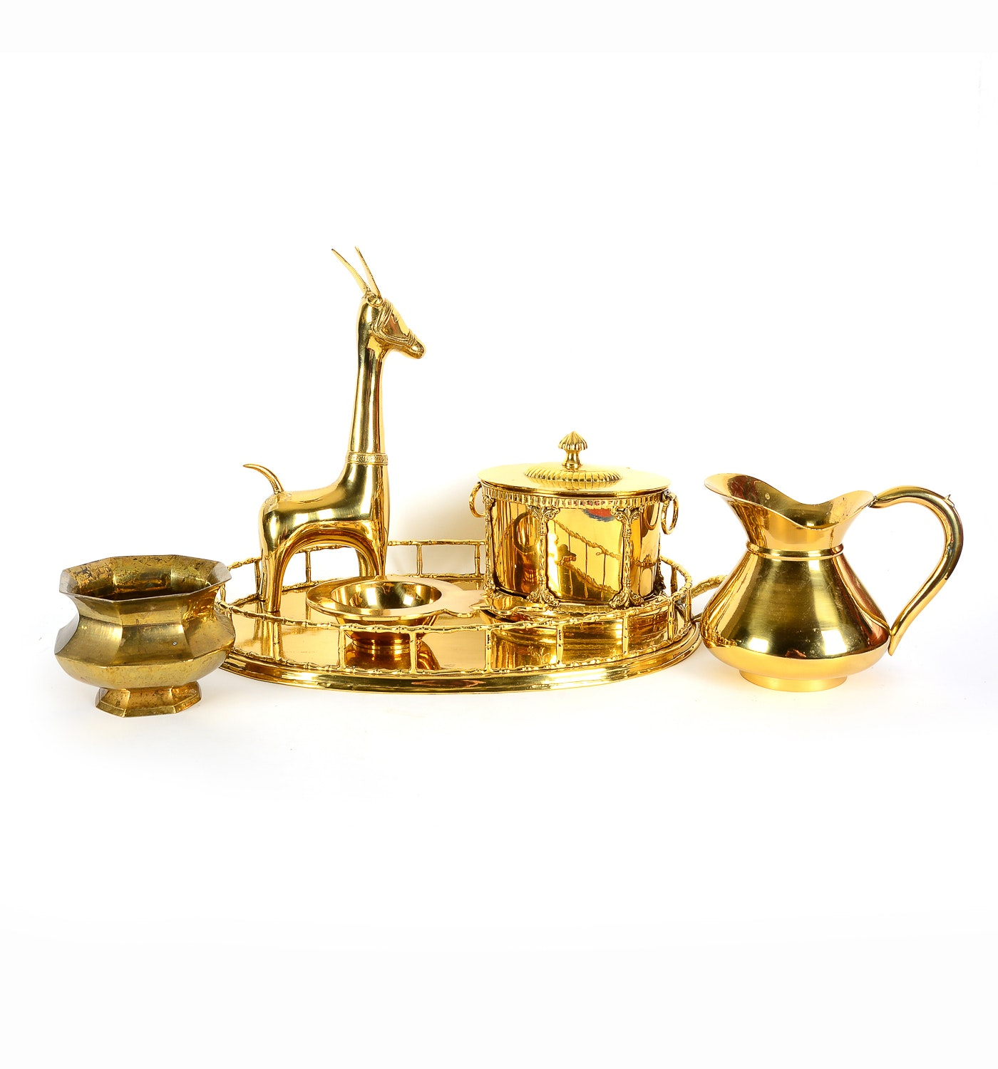Collection of Brass Decorative Items