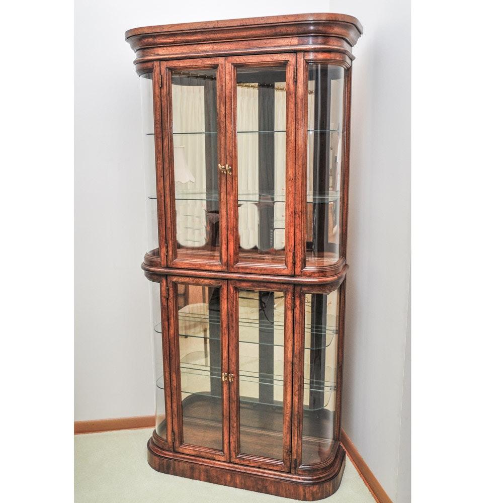 American Of Martinsville Curio Cabinet Cabinets Matttroy