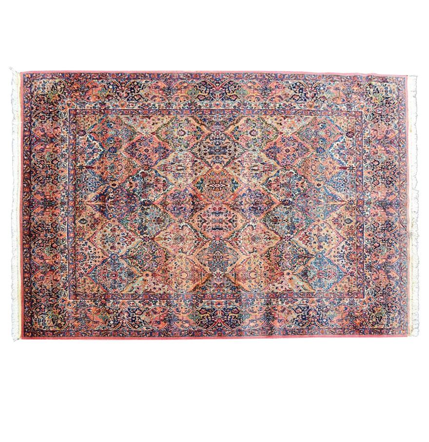 Vintage Large Karastan Kerman Style Area Rug : EBTH