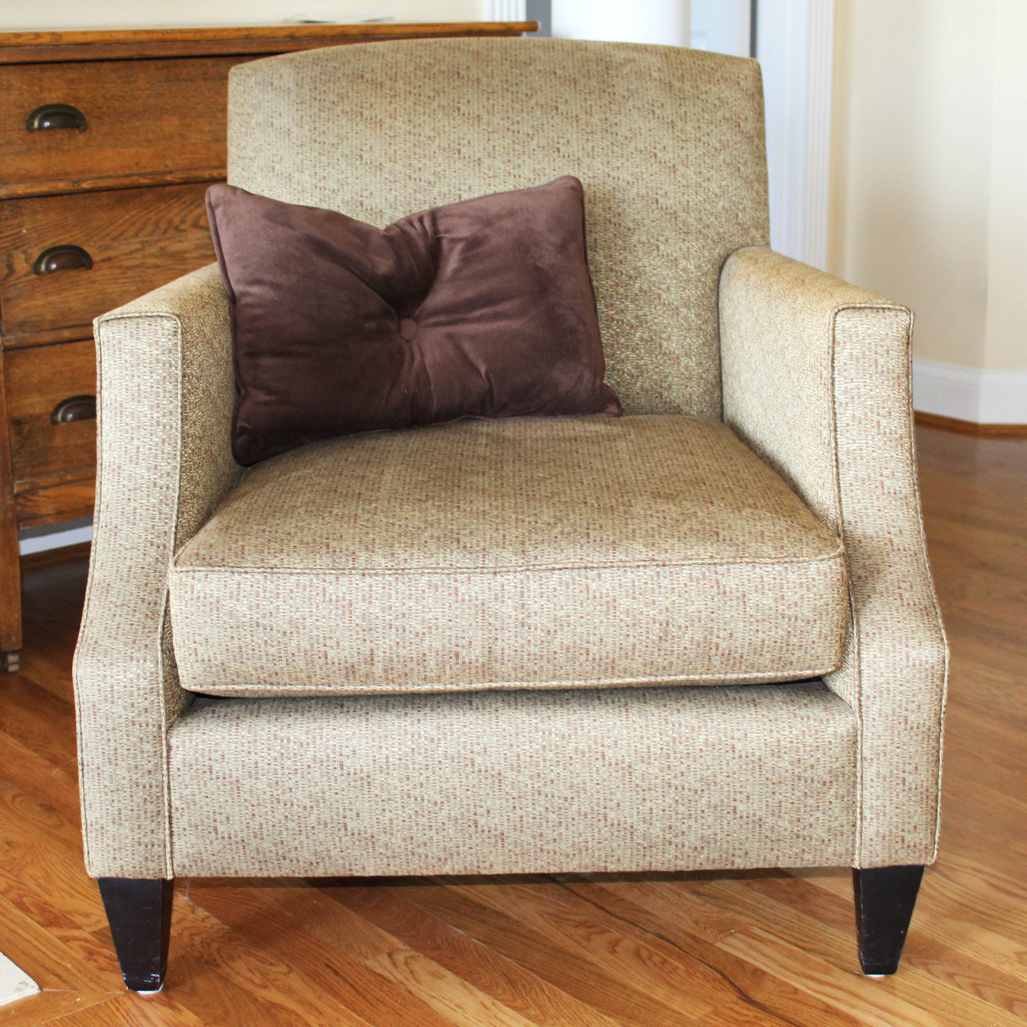 Crate and Barrel Multi Hue Club Chair