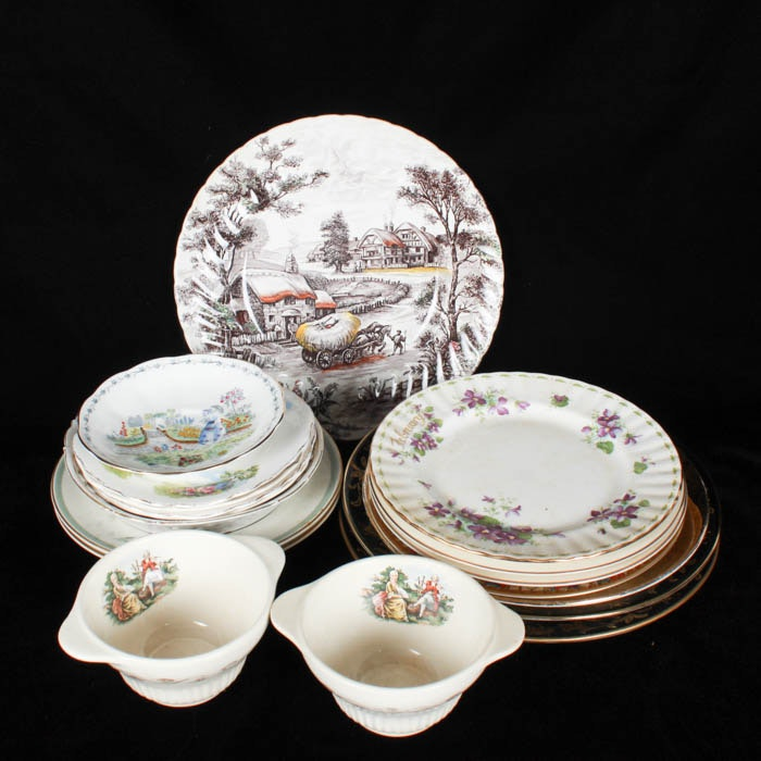 Collection of China and Fine Bone China