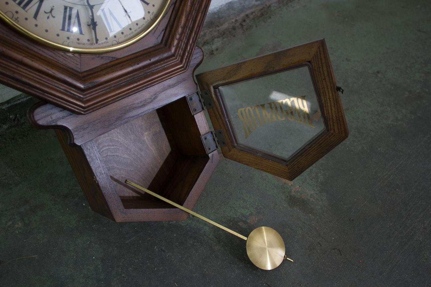 Vintage Sligh Regulator Clock Ebth