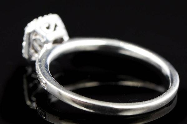 050 CTW Diamond And 10K White Gold Bridal Set EBTH