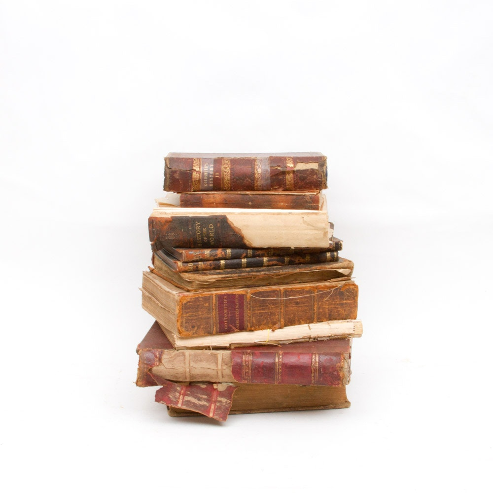 Antique Books and Bible