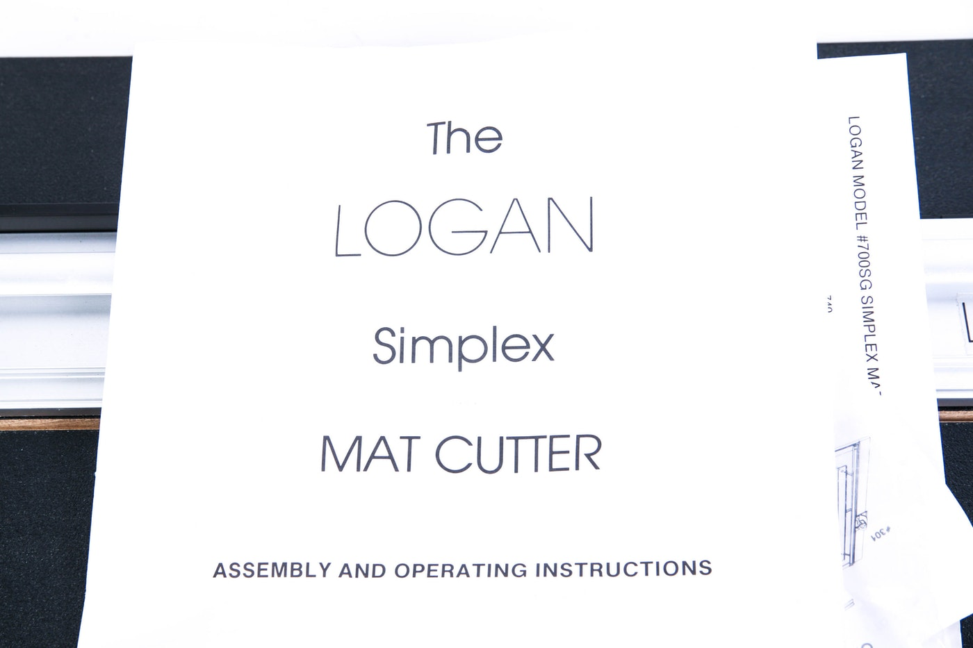 Logan Simplex Graphic Professional Mat Cutter Ebth