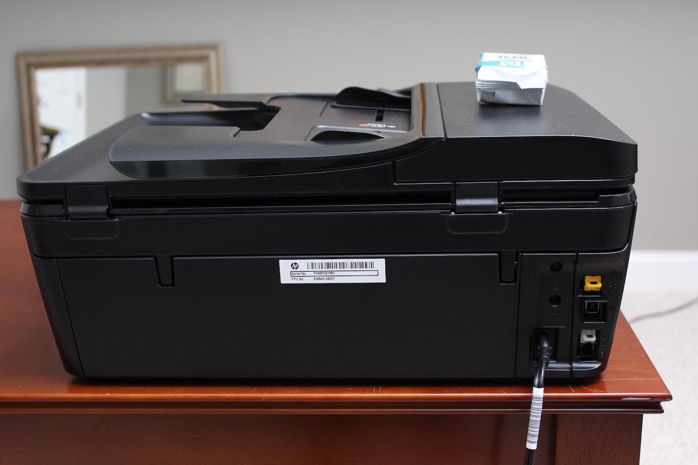 hp envy 7640 all in one printer ebth. Black Bedroom Furniture Sets. Home Design Ideas