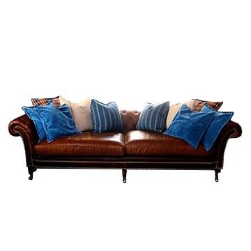 Leather Ralph Lauren Brook Street Sofa ...