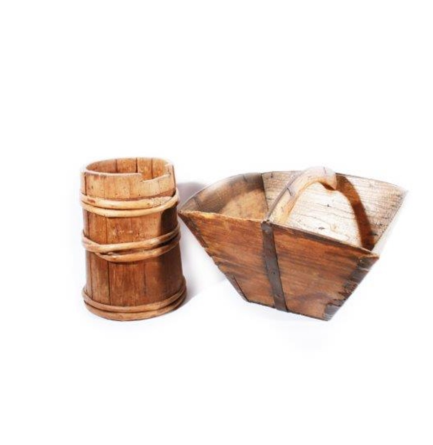 Wood decor items ebth for Decoration stuff