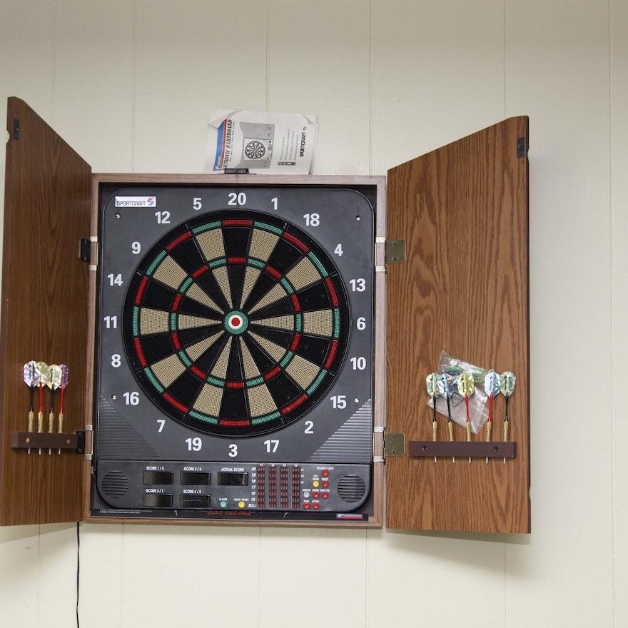 Sportcraft Electronic Dartboard : EBTH