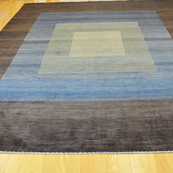 Persian Gabbeh Style Modern Flair Wool Area Rug