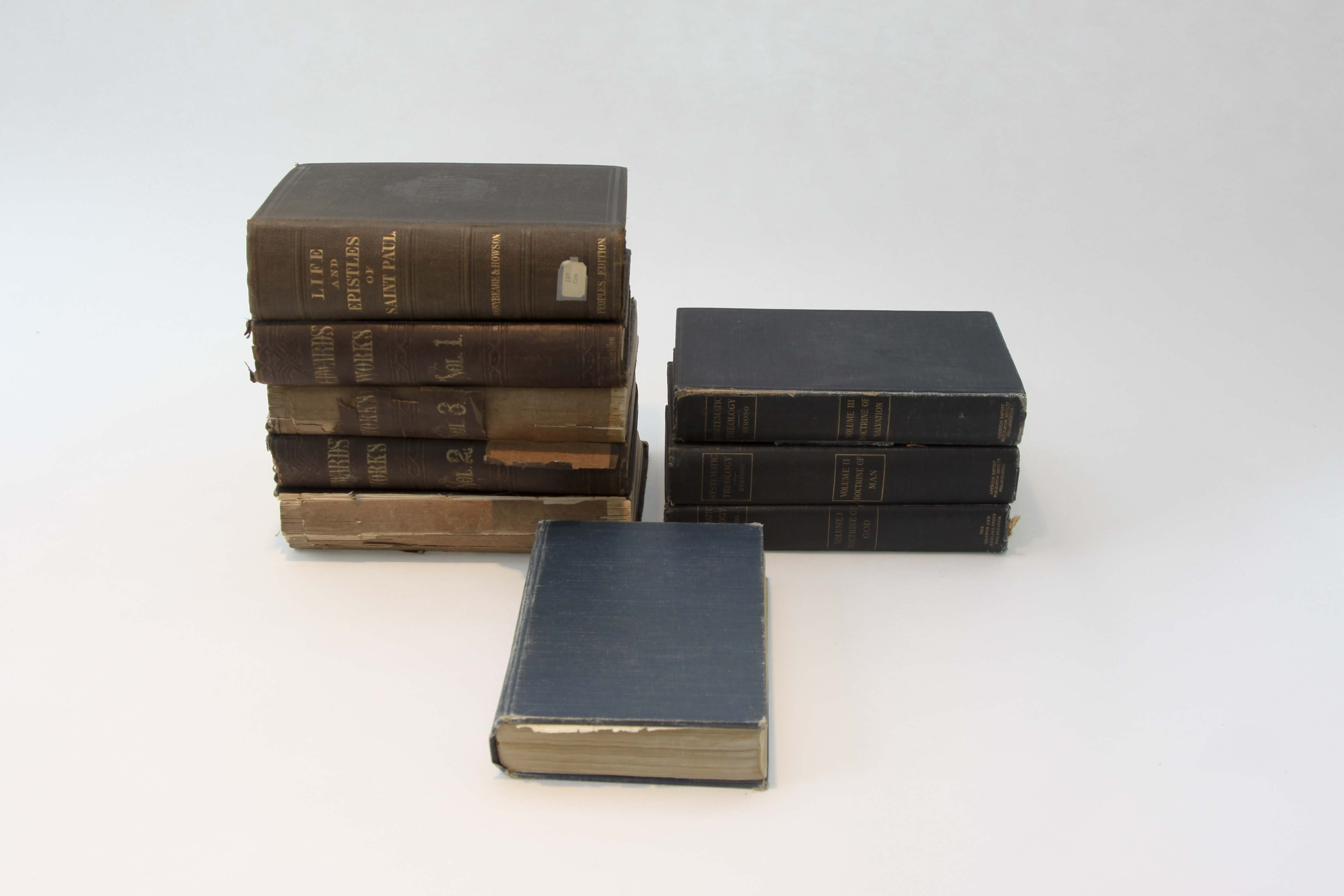 Group of Antique Christian Religious Books